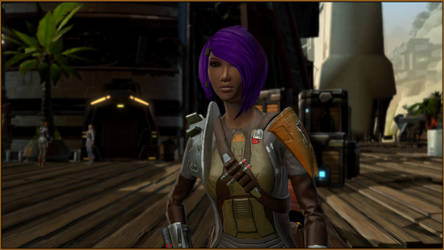 SWTOR - Eda - On Rishi (1) by CorePhantom