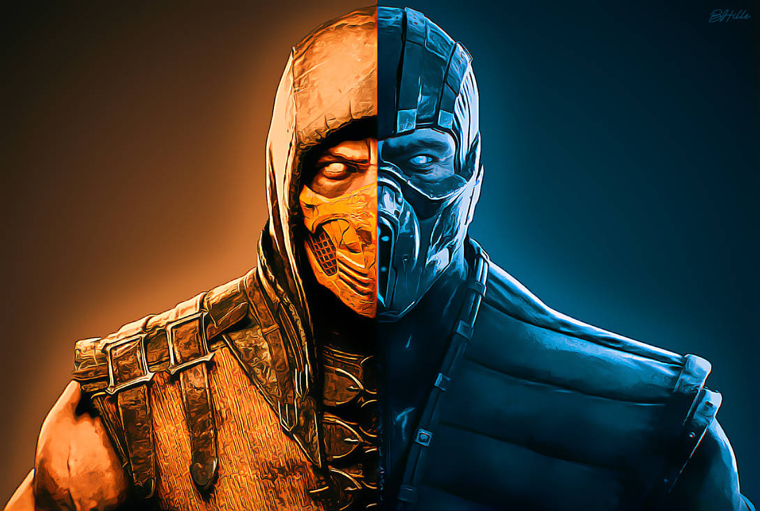 Try These Mortal Kombat Xl Scorpion And Sub Zero {Mahindra