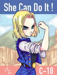 SHE CAN DO IT!