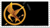 Mockingjay Pin Stamp by fantasy-rainbow