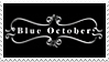 Blue October stamp by fantasy-rainbow