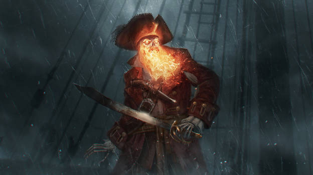 The Demon Pirate LeChuck