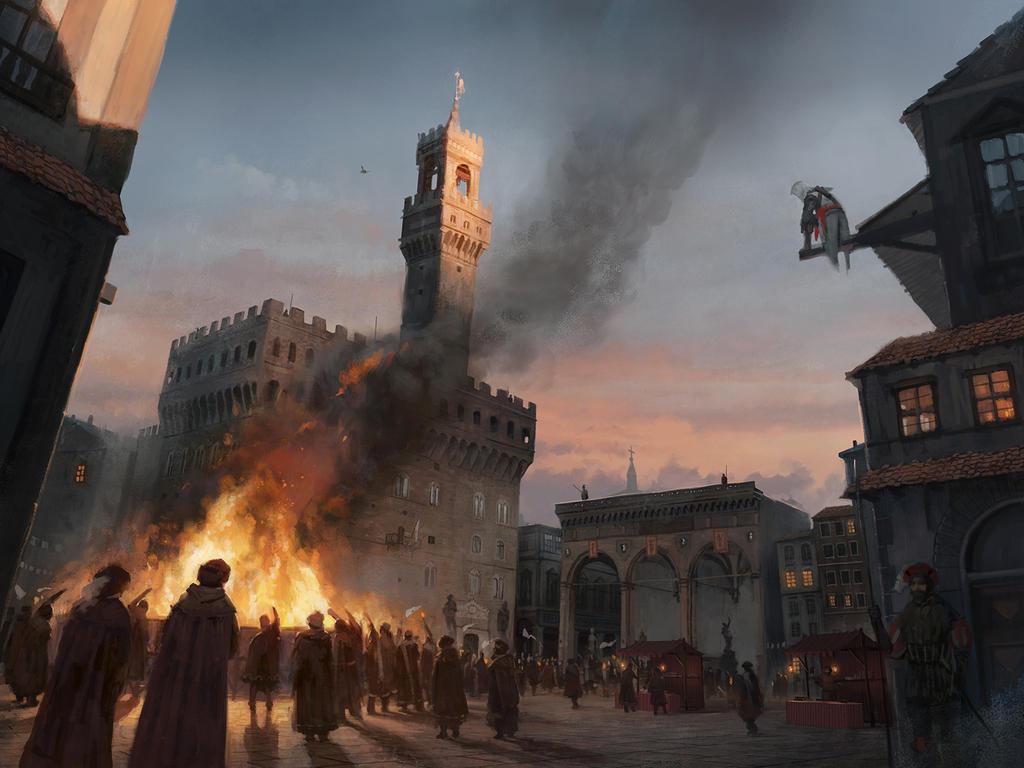 Assassin's Creed: Identity - Bonfire by boc0