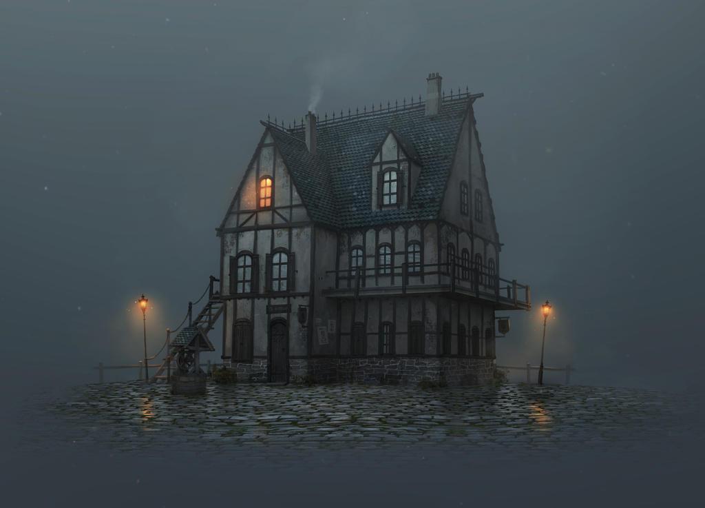 Misty Inn by boc0