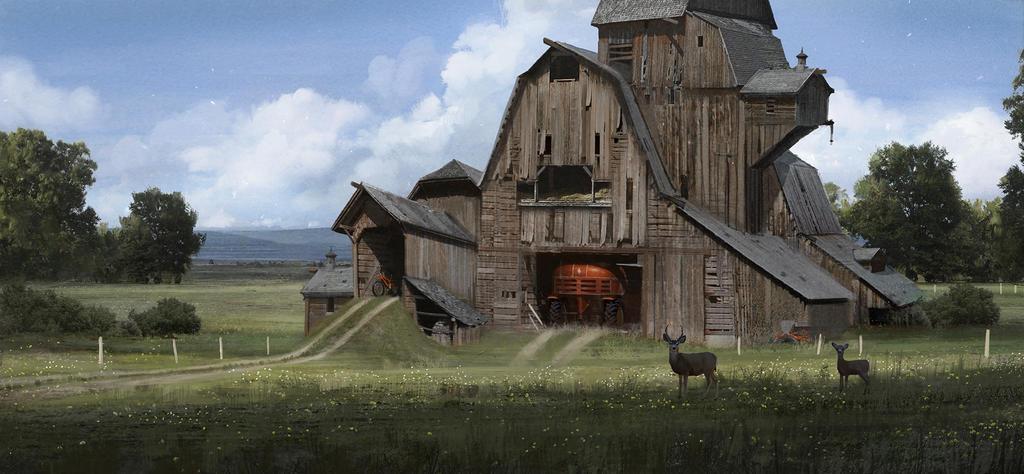 Barn-up by boc0