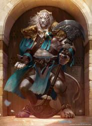Ajani, Mentor Of Heroes by boc0