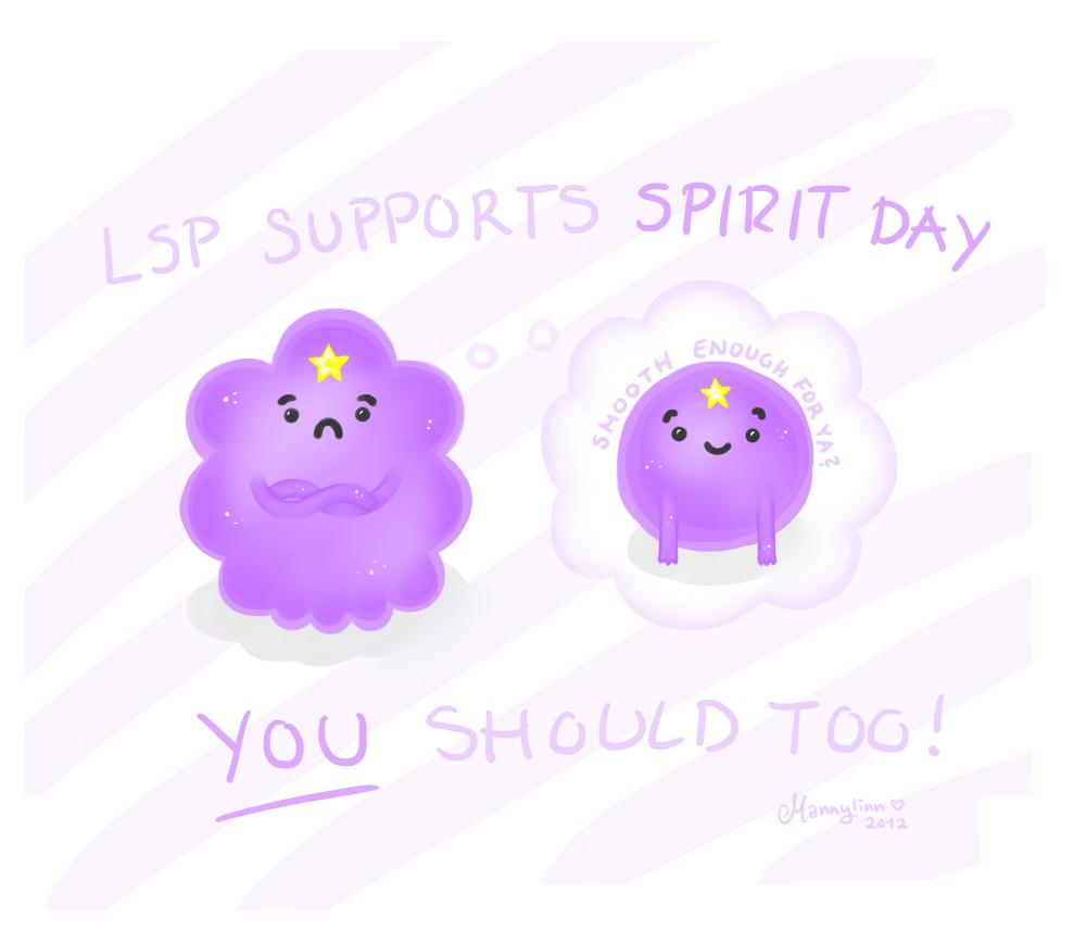 The LSP way of Spirit Day by Mannylinn