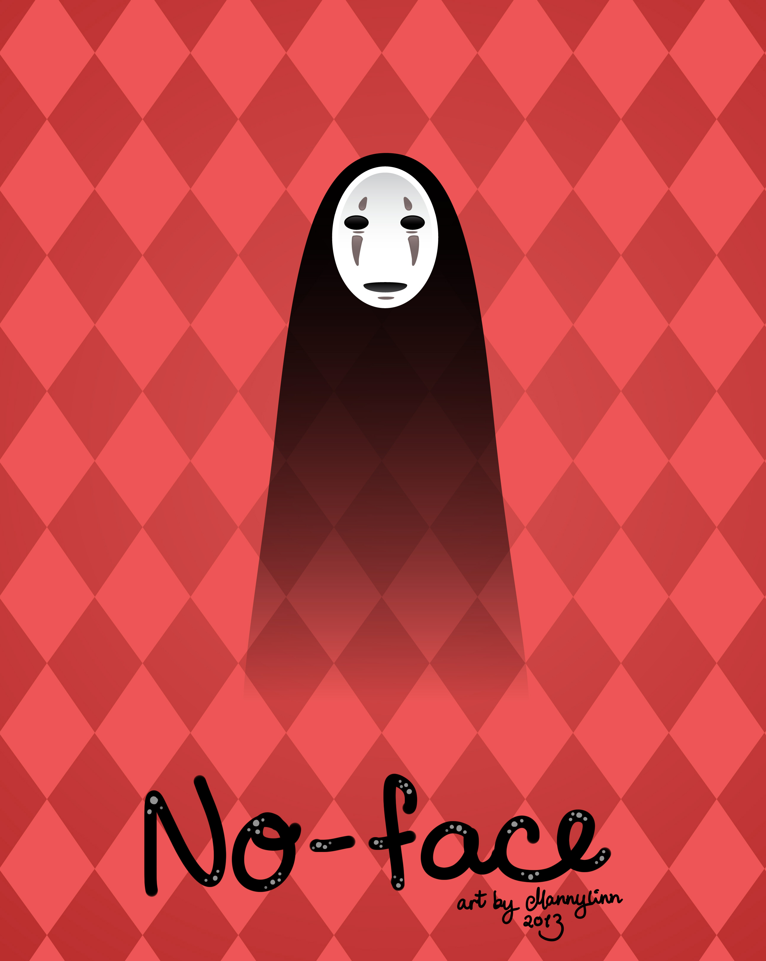 No-face by Mannylinn