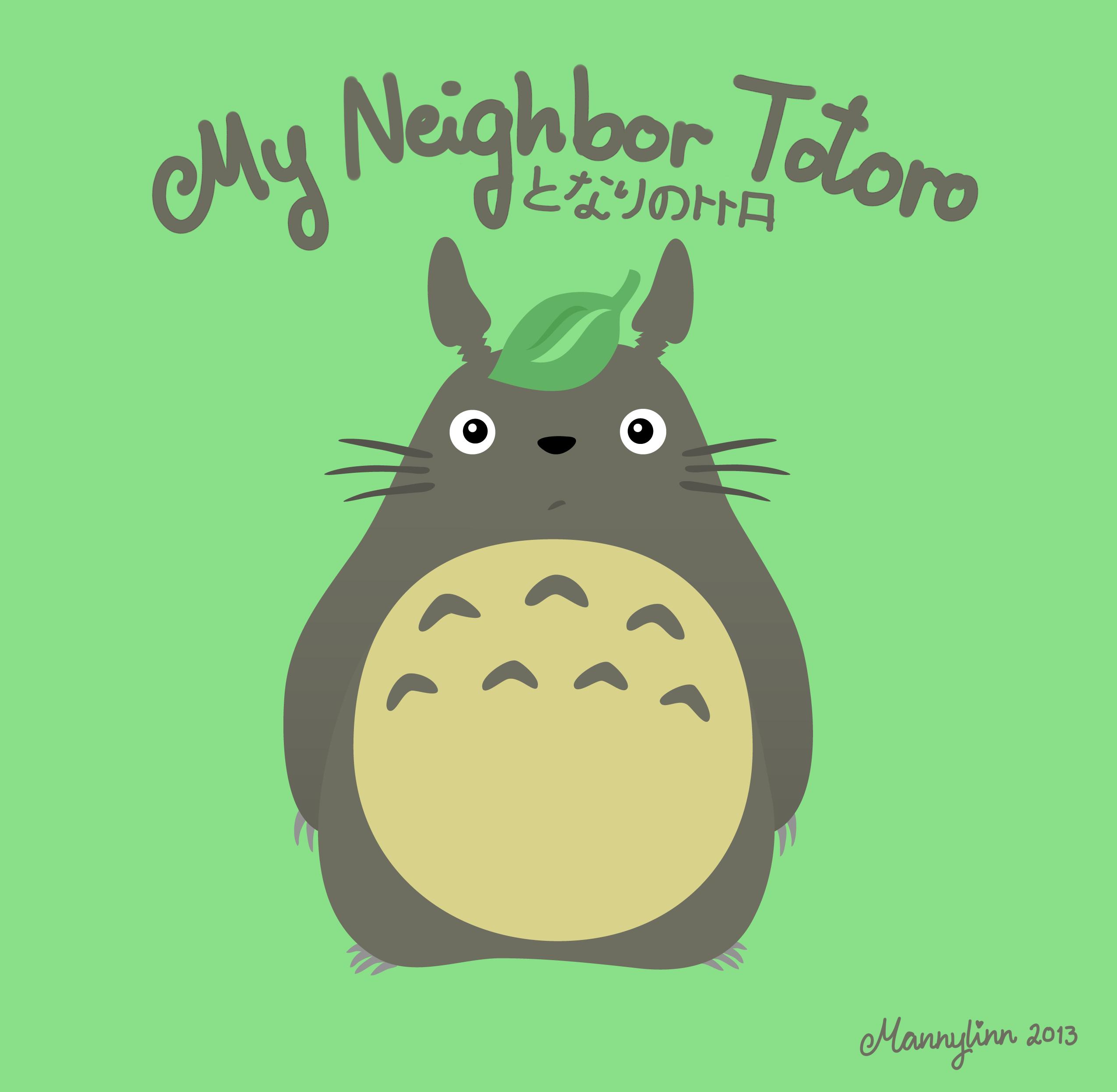 Totoro by Mannylinn