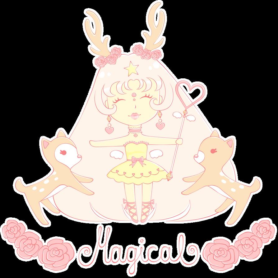 Magical girl by Mannylinn