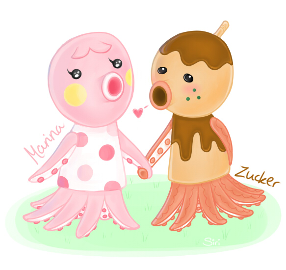 Marina and Zucker by Mannylinn