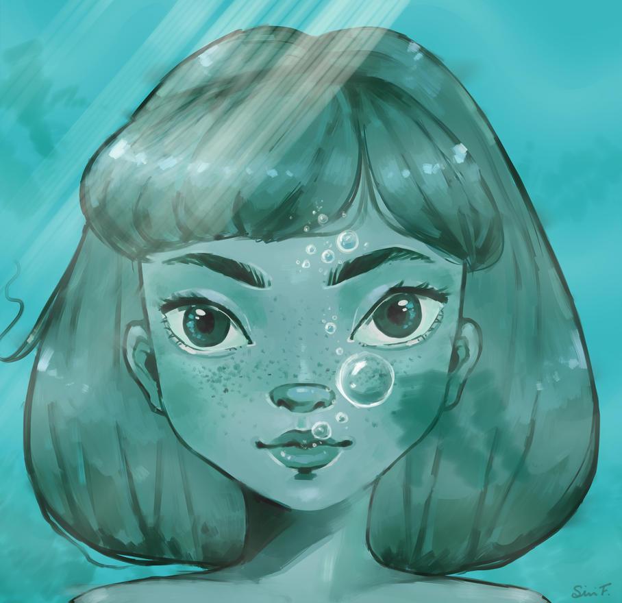 Underwater by Mannylinn