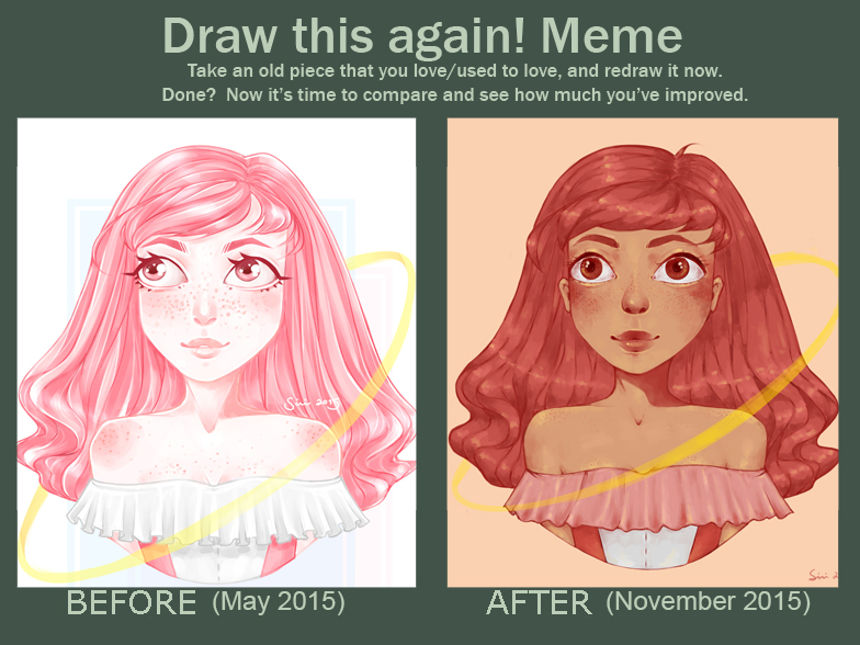 Draw this again! Meme by Mannylinn