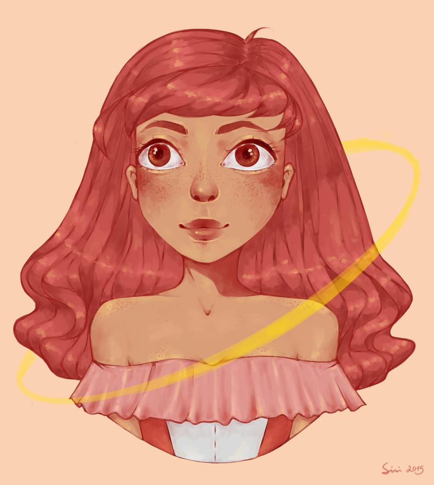 Redhead by Mannylinn