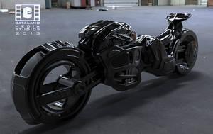 Sci Fi Bike WIP by CatalanoMedia
