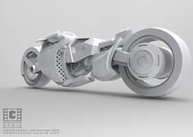 Sci Fi Bike Final Back by CatalanoMedia