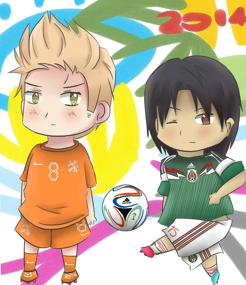 APH - World Cup 2014 Netherlands vs Mexico by Mizuka-san