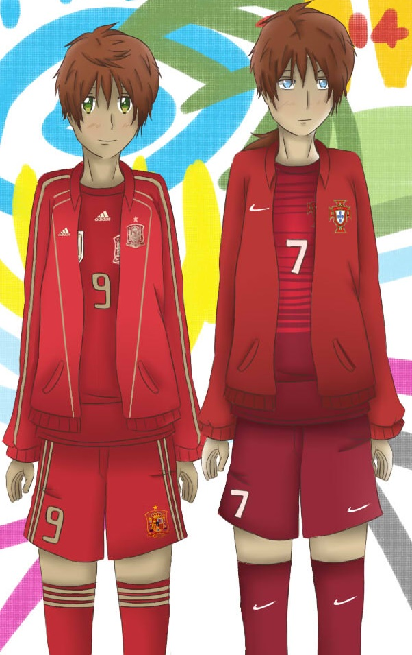 APH - World Cup 2014 Spain and Portugal by Mizuka-san
