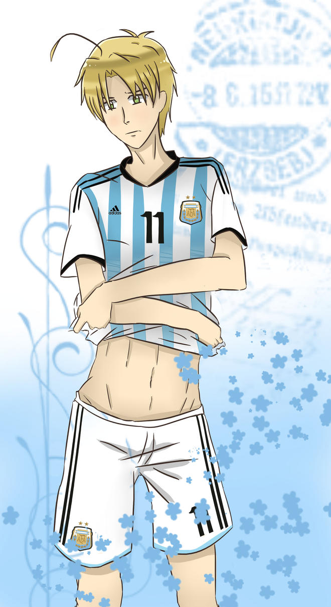 APH - World Cup 2014 Argentina by Mizuka-san