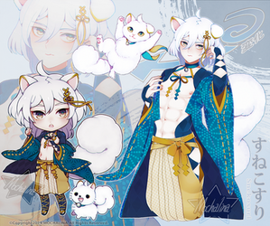 [Open] Transforming male character01(+CHIBI)Adopts