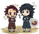 CHIBI / Demon Slayer - Tanjiro and Giyu