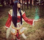 my Ahri cosplay