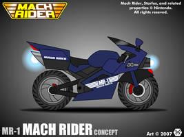 MR-1 Mach Rider Concept by MalamiteLtd