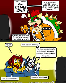 Bowser races on Wi-Fi