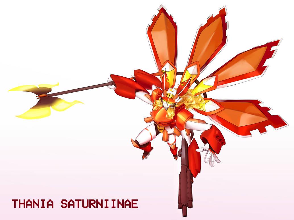 Thania Saturniinae by TheBorealYoako