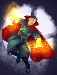 The Sorcerer Supreme by TheBorealYoako