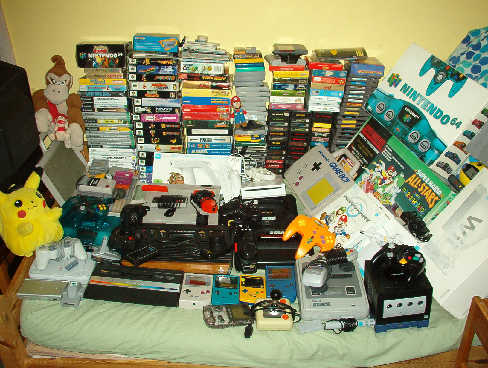 My video game collection! by maskeraderosen