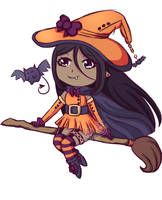[Adopt] Halloween Witch [Open] [price dropped] by KibbyCup