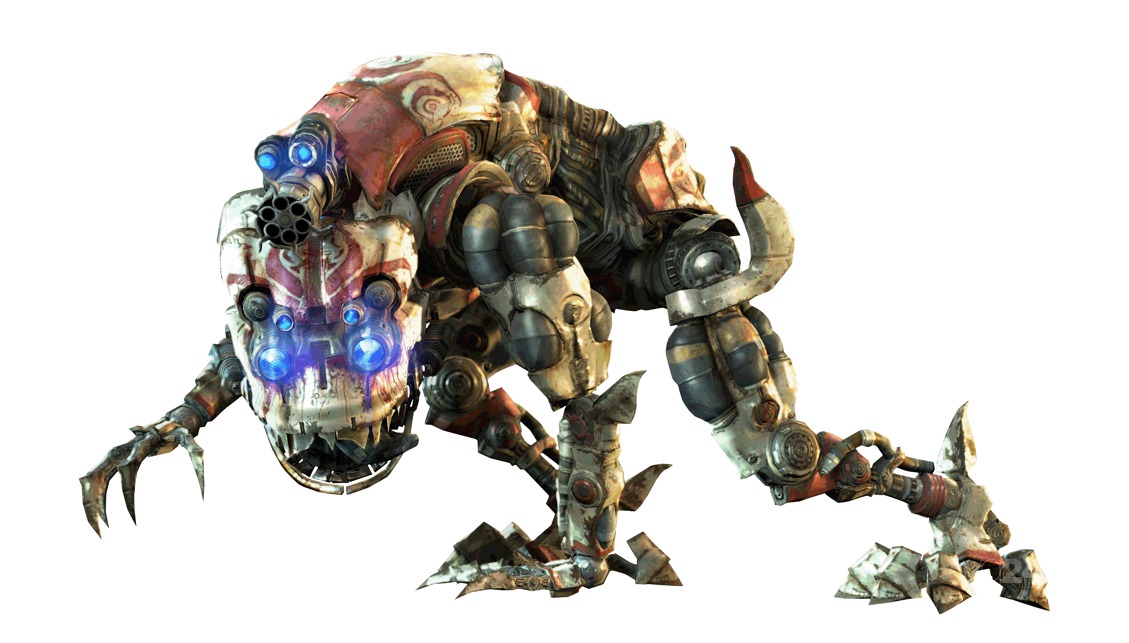 Mech-Dog Render by The-Blacklisted