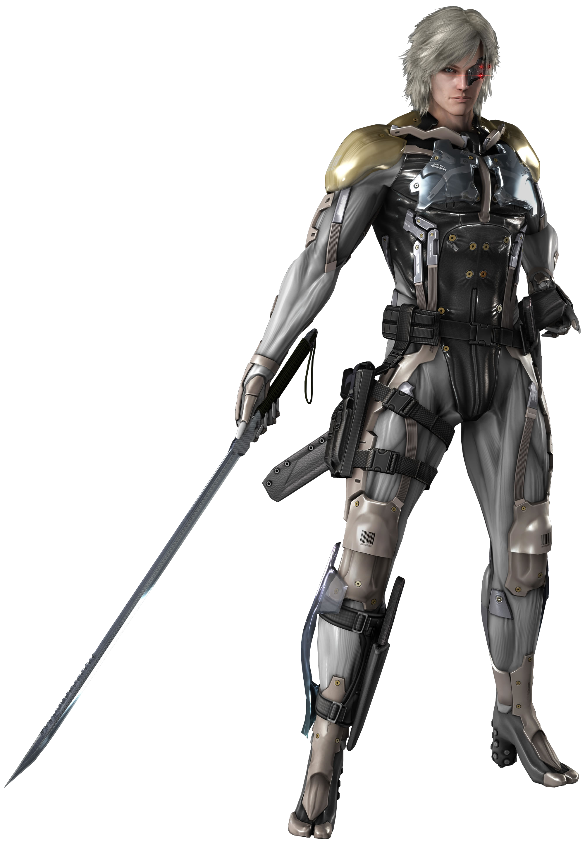 Metal Gear Rising Revengeance - Raiden render by Corvasce1982