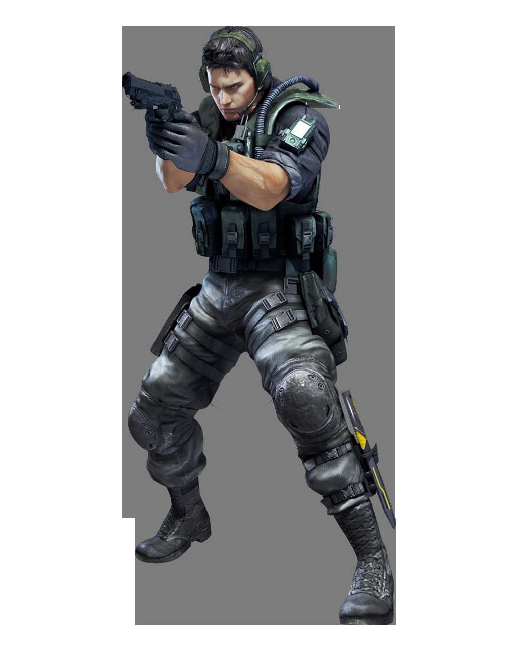 Chris Redfield Resident Evil Revelations
