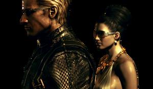 Resident Evil 5 Screenshot Render by The-Blacklisted