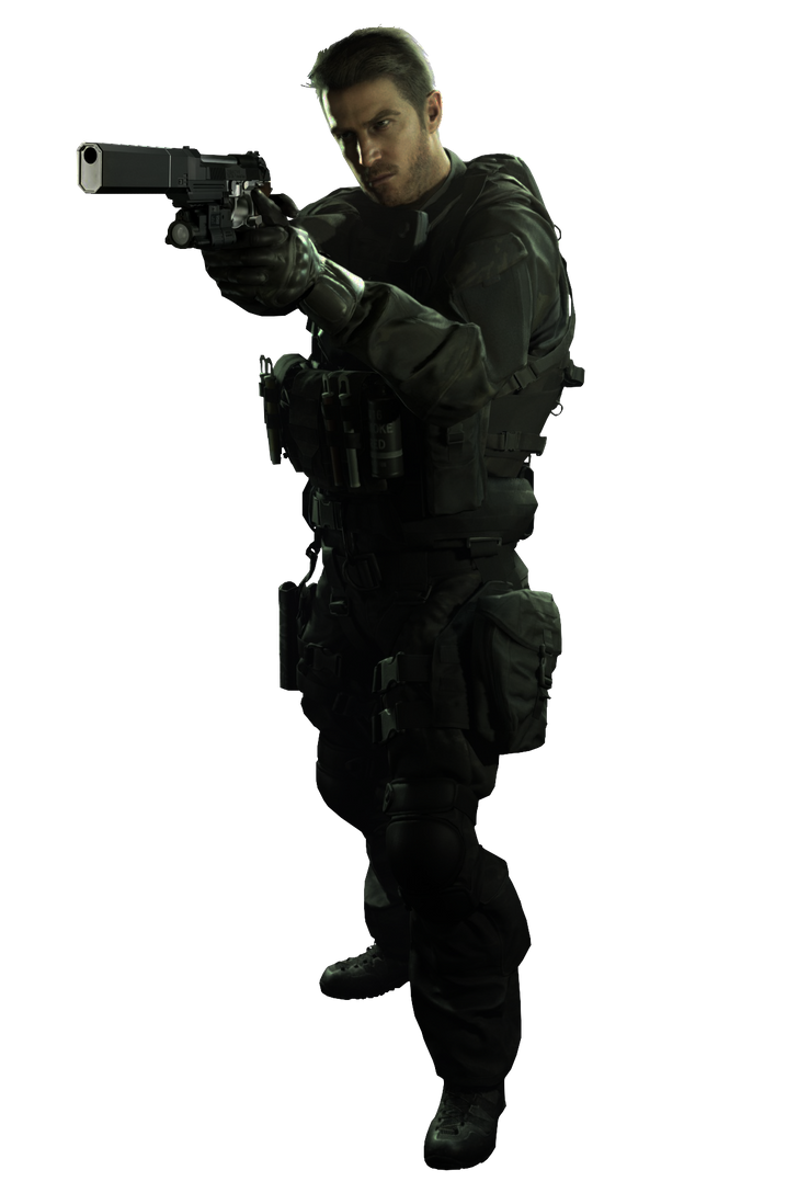 Resident Evil 7 Biohazard 01 Chris Redfield by The-Blacklisted