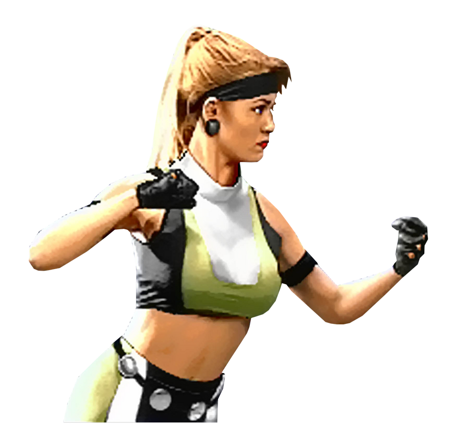 Mortal Kombat 3 Kerry Hoskins VS. Screen Render by The-Blacklisted