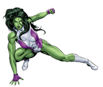 She-Hulk Render 2