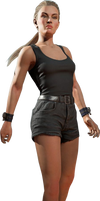 Mortal Kombat 11 Bridgette Wilson Render