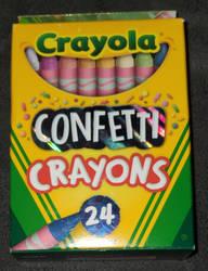 ''Crayola Confetti Crayons''