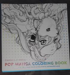 ''Pop Manga Coloring Book''