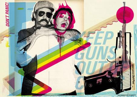 KEEP GUNS OUT by dontpanicmedia