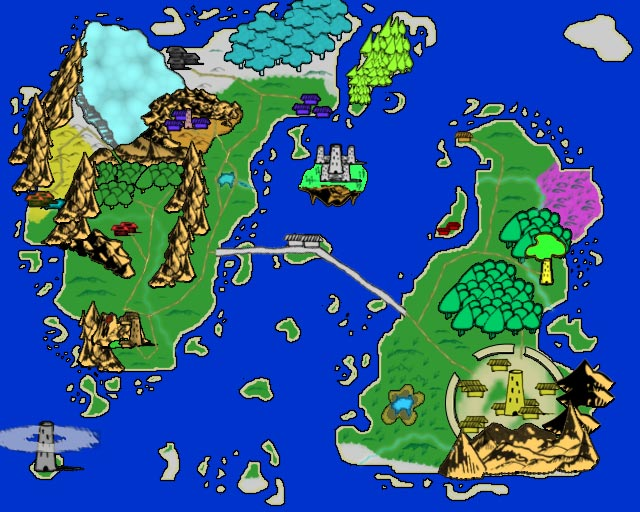 The World of Tirr - World Map by Jwguy