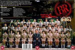 Battle Royale Custom DVD Cover by thelostmuslim