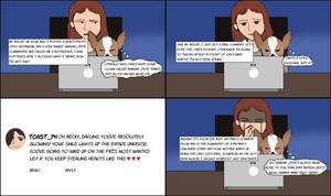 Becky And Mr. Biscuit #53 (The Comment)