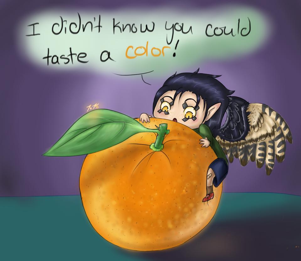 Orange by Karret