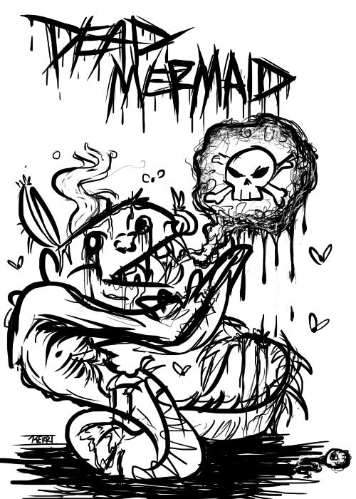 Dead Mermaid by Karret