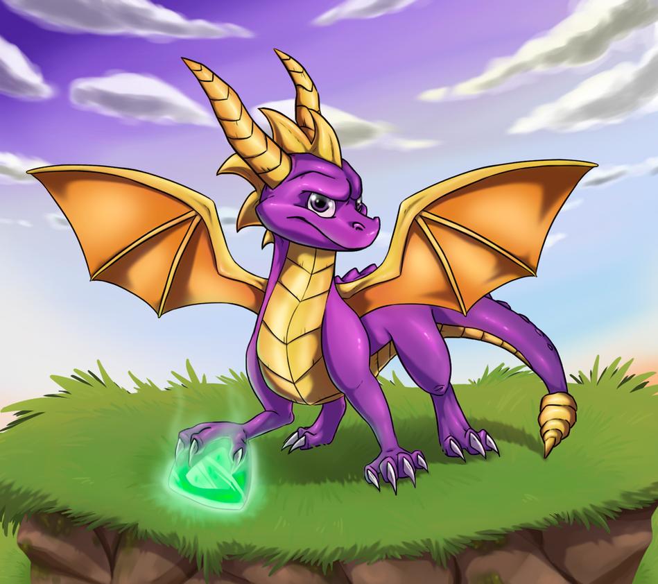 Spyro by Gabichan00