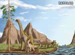 Dinosaur Valley -REVELES by Gabichan00